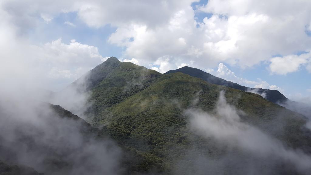 Itapiroca visto do cume do Taquaripoca.