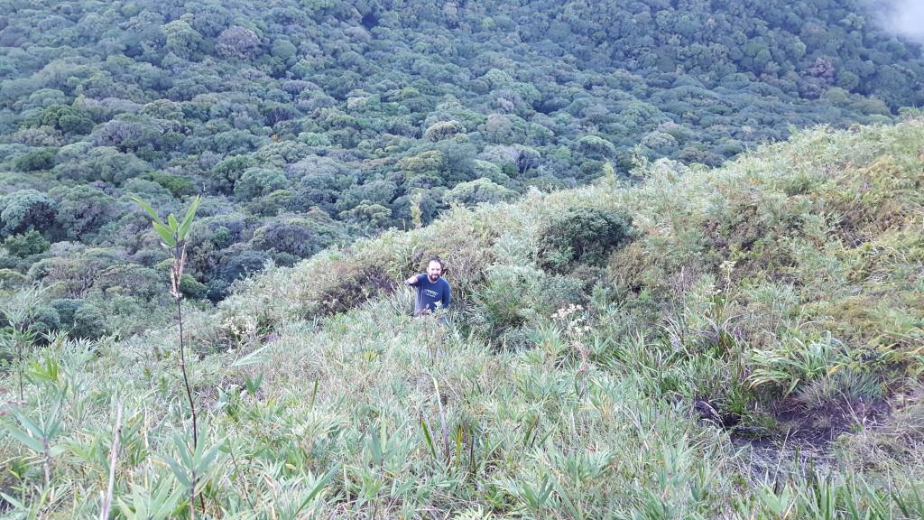 Bolivia subindo a encosta do Tucum.