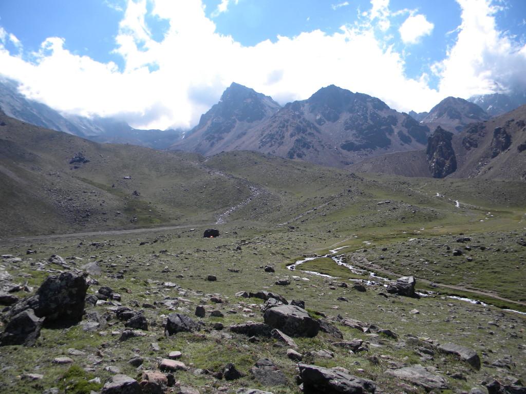 Acampamento de Veguitas, 3200 m.