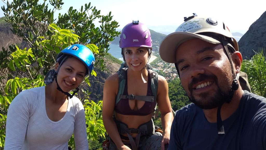 Michelle, Carol e Natan