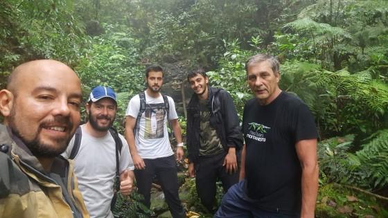 Eu, Andre, Wesley, Raphael e o Fiori.