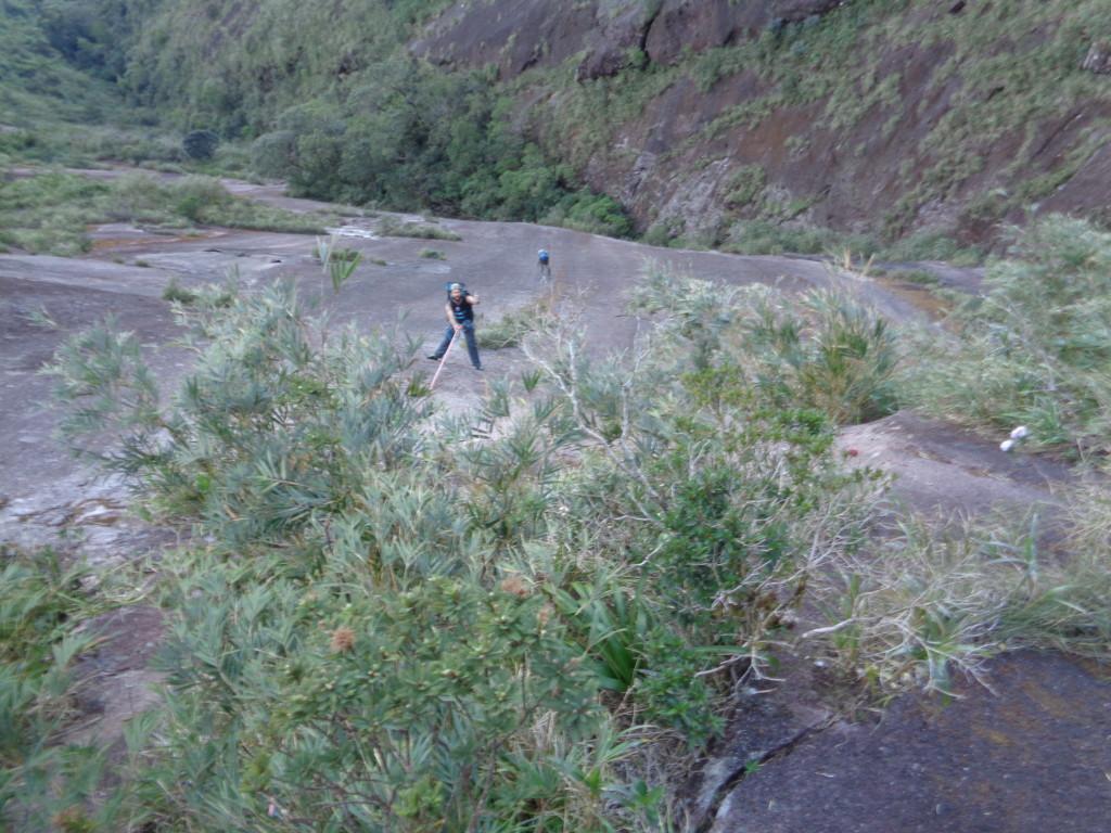 Eu na P2, Italo escalando e Marcio jumareando logo em seguida.